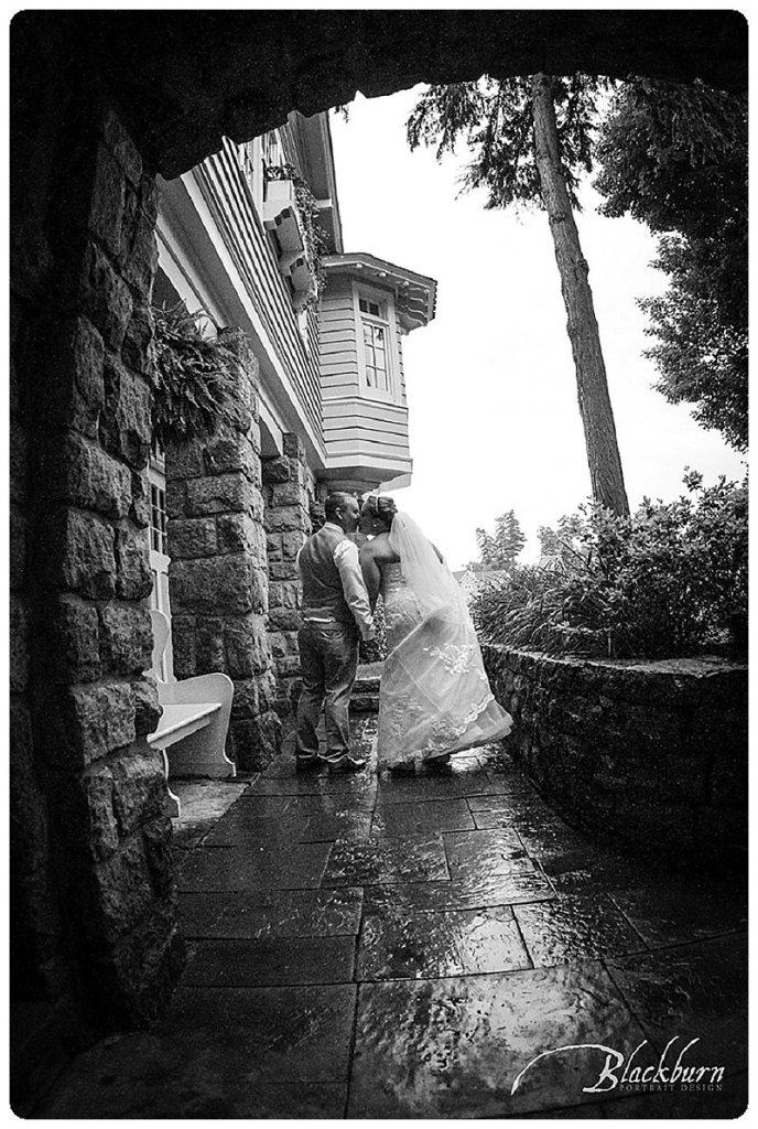 Lake George Destination Rainy Day Wedding