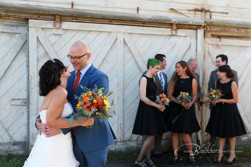 Fall Wedding Upstate NY Photo